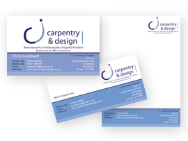 Business Card Stationery Design Crossways, Dorset
