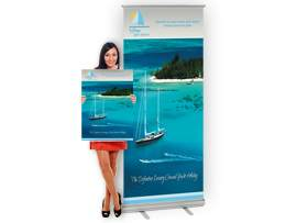 roller banner stands design lymington hampshire