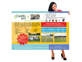 pvc vinyl banner design christchurch hampshire